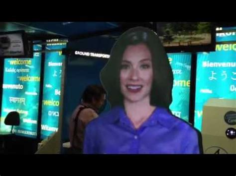 Holograms Replace On New York Catwalks by Holograms To Replace At New York Airports