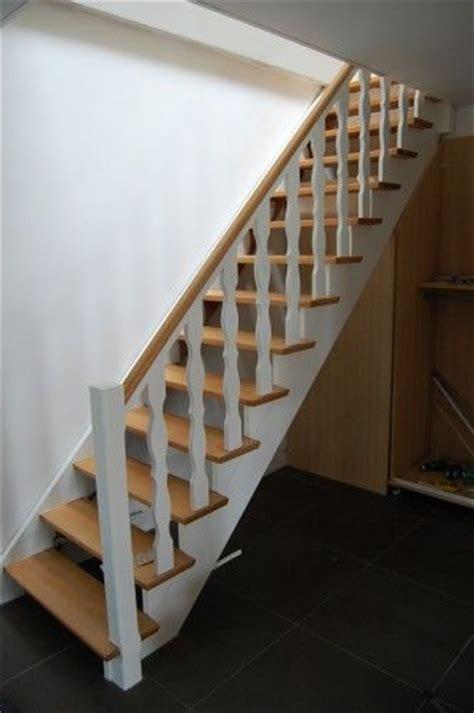 renover escalier escalier hetre escalier hetre et blanc