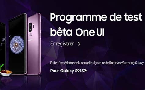 galaxy s9 la b 234 ta samsung one ui sous android 9 0 pie disponible en phonandroid