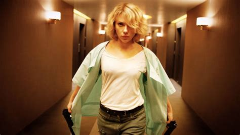lucy film fact 2014 scarlett johansson sci fi action lucy review luc besson gives black widow the l 233 on