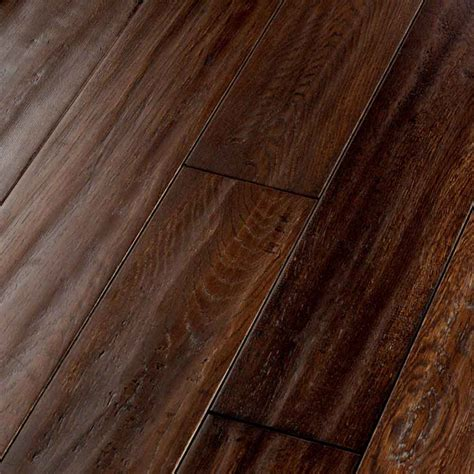 Brown Hardwood Floors by Shop Floors By Usfloors 5 In Hickory Brown Oak Hardwood Flooring 23 3 Sq Ft At