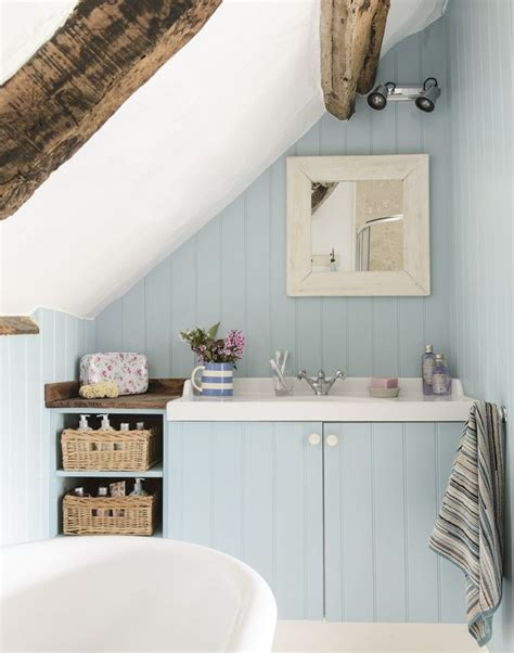 attic bathroom sloped ceiling the 25 best country blue ideas on pinterest country