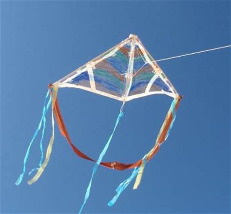 A Kite Out Of Paper - a kite building challenge