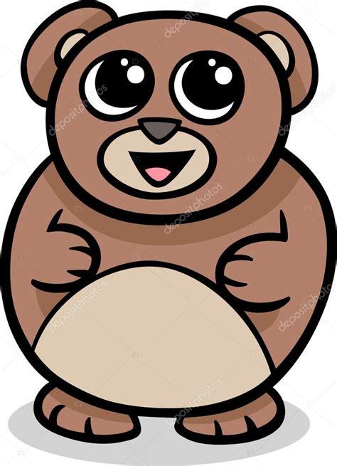 imagenes de oso kawaii ilustraci 243 n de dibujos animados kawaii oso vector de