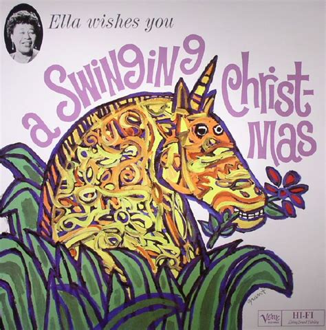 ella fitzgerald ella wishes you a swinging christmas ella fitzgerald wishes you a swinging christmas vinyl at
