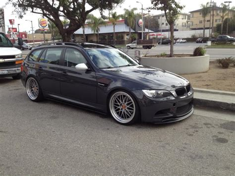 modified bmw 3 series modified 3 series wagon with m3 front end stance bmw 3