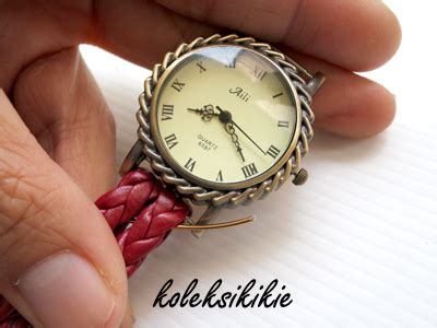membuat gelang jam membuat jam tangan gelang sendiri koleksikikie