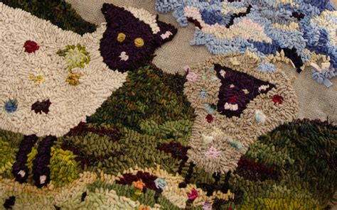 rug hooking supplies maine hooked rugs at savory maine fiber folio