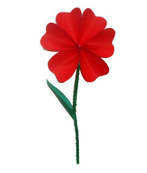 i fiore un fiore da regalare bimbi di carta