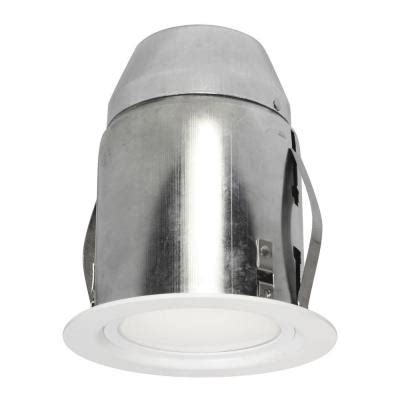 Recessed Lighting Insulated Ceiling Bazz 4 13 In White Recessed Lighting Fixture Designed For Insulated Ceiling 910l11w The Home