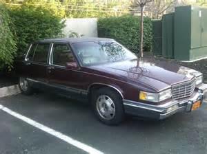 1991 Fleetwood Cadillac Andrewfeger S 1991 Cadillac Fleetwood Sedan 4d In