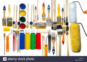 paint color tool different types of paintbrushes colors painting tools