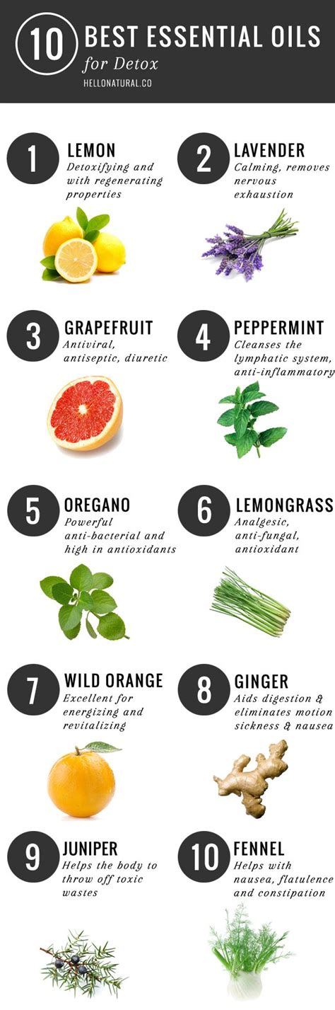 Doterra Essential Oils For Liver Detox by Top 10 Essential Oils For Detox Essential Oils Best