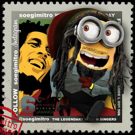 imagenes de minions rastafaris bob marley animado www imgkid com the image kid has it