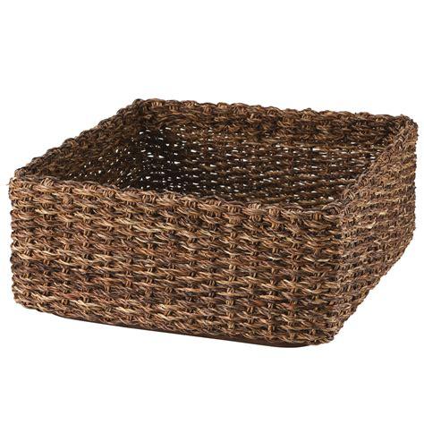 muji baskets stackable bac bac basket square m w35 d35 h16cm muji