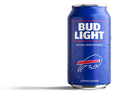 Bud Light by Bills Fans Bud Light Has Created A Can Just For You
