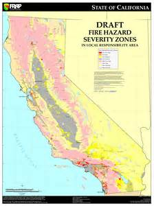 cal california hazard severity zone map update