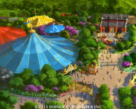 new storybook circus concept offers more details for storybook circus at magic kingdom a closer look disney