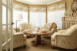 Window Treatments For A Bow Window superb valance window treatments decorating ideas images