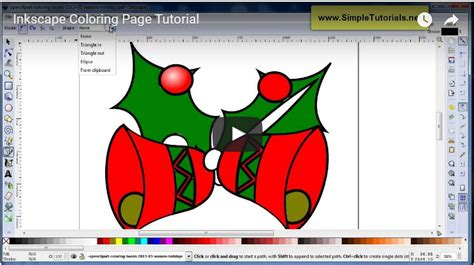tutorial do inkscape inkscape coloring page tutorial simpletutorials net