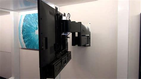 porta tv motorizzato tv moving mlwq staffa tv motorizzata da parete per tv a