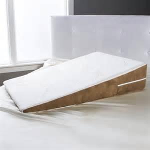 bed pillow wedge avana bed wedge memory foam gerd pillow x large ebay