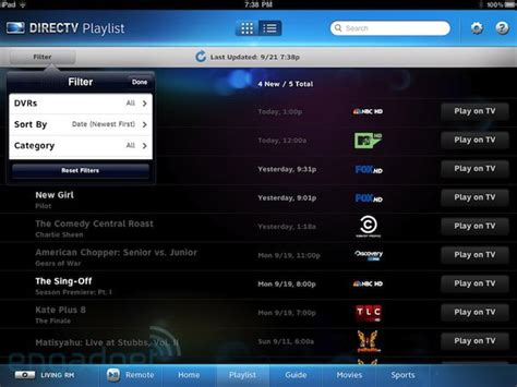 directv app for android tablet directv app upgrade adds easy multiroom dvr hdui compatibility android tablets