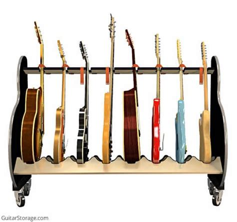 Guitar Storage Rack by Session Pro Mobile Guitar Rack