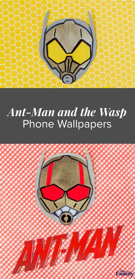 ant man   wasp phone wallpapers disney family