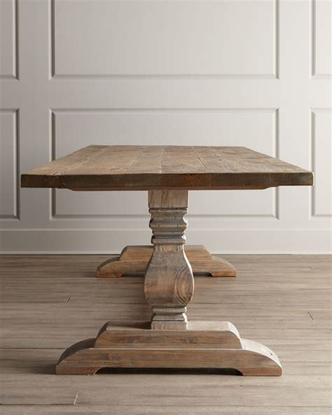 traditional kitchen tables dining table traditional dining tables other metro by horchow