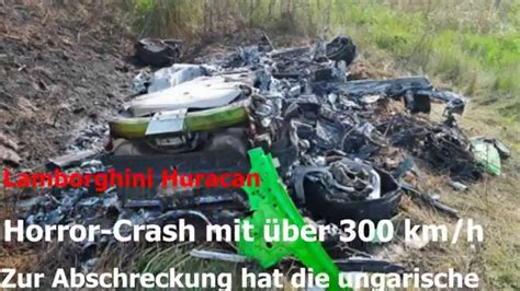 300 Km H Lamborghini Crash by Artikel Quot Lambo Crash Mit 252 Ber 300 Km H Quot Youtube