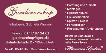 gardinen und dekorationen berlin kopenick raumausstatter gardinen und dekorationen berlin k 246 penick