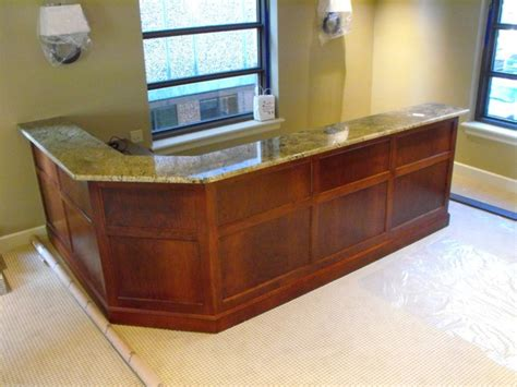 Traditional Reception Desk Reception Desk