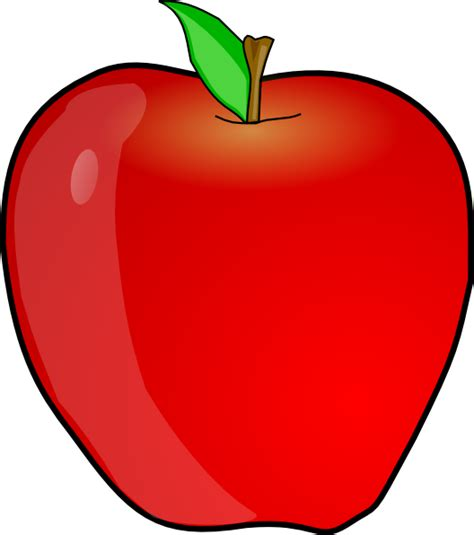 apple clipart another apple clip at clker vector clip
