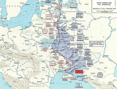 russian domain map the war on the eastern front 1942 1944 by hodges
