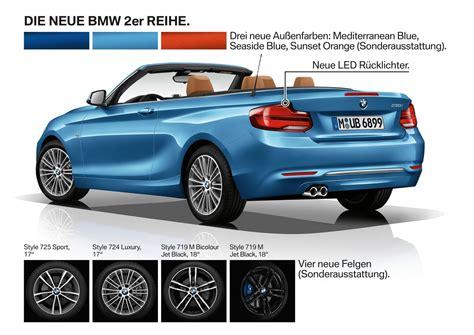 Bmw 2er 2017 Price by Bmw 2er Coupe 2017 Lci 196 Nderungen Exterieur Ubi Testet