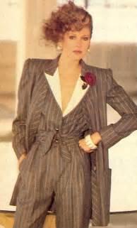 Rosie vela 1980s power dressing vintage fashion pinterest