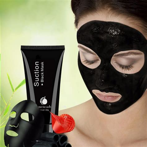 Detox Mud Mask For Acne by Cleansing Black Mask Activated Charcoal