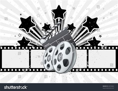 list of themes in film vector background movie theme stock vector 64970464