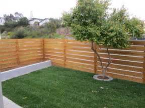 Horizontal Wood Fence Design Beautify The Minimalist Living With Horizontal Wood Fence Wood Fences Wood Fence Cost Home