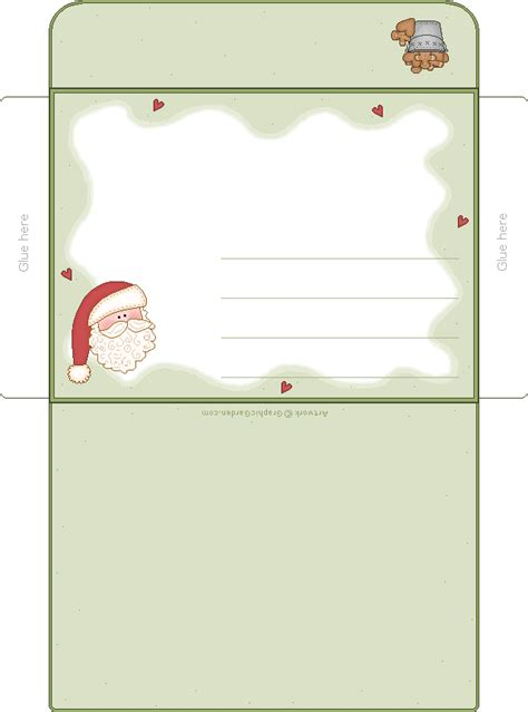 printable envelope free printable envelopes from santa search results