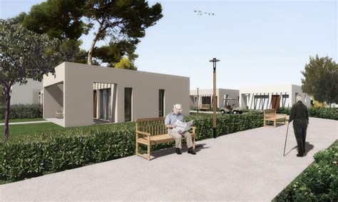 Home Design For Elderly by Housing Complex For Elderly People Achilles Kalogridis