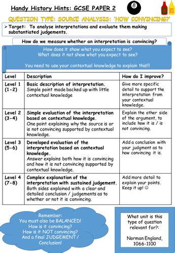aqa gcse history norman aqa history 8145 new spec gcse marking criteria for norman england c1066 1100 student