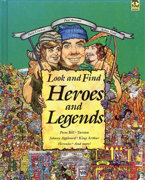 Find In Book Comic Books In Look And Find Book