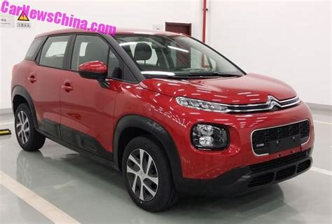 Citroen C4 Aircross by This Is The New Citroen C4 Aircross For China