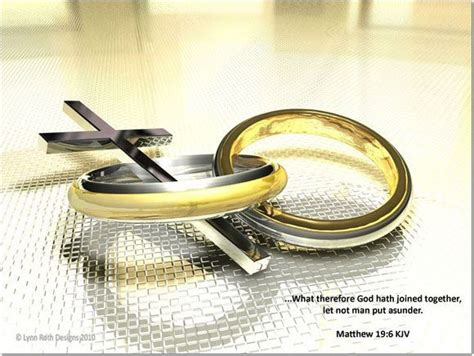 Wedding Ring Kjv by What Therefore God Hath Joined Together Let Not Put
