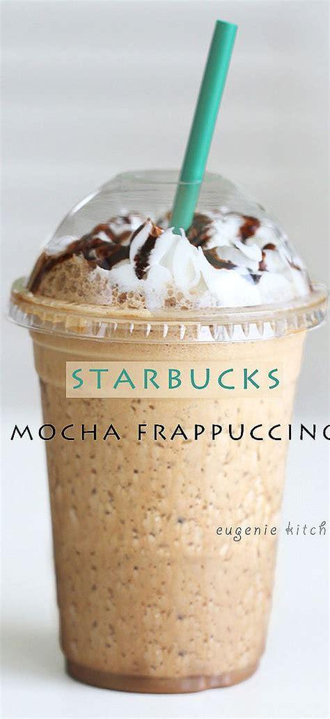 starbucks mocha frappuccino at home copycat recipe