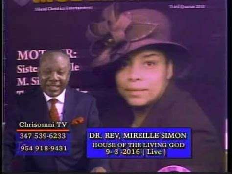 house of the living god dr mireille simon house of the living god 9 3 2016