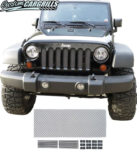jeep mesh grill custom grill mesh kits for jeep vehicles by