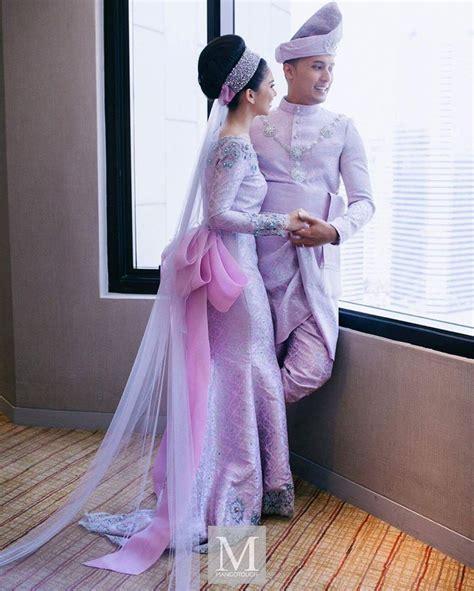 Baju Nikah Anzalna lagi edisi memukau resepsi kedua anzalna dan hanif famili gaya hidup cari infonet